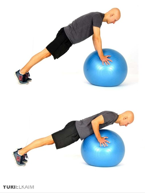 ball push up